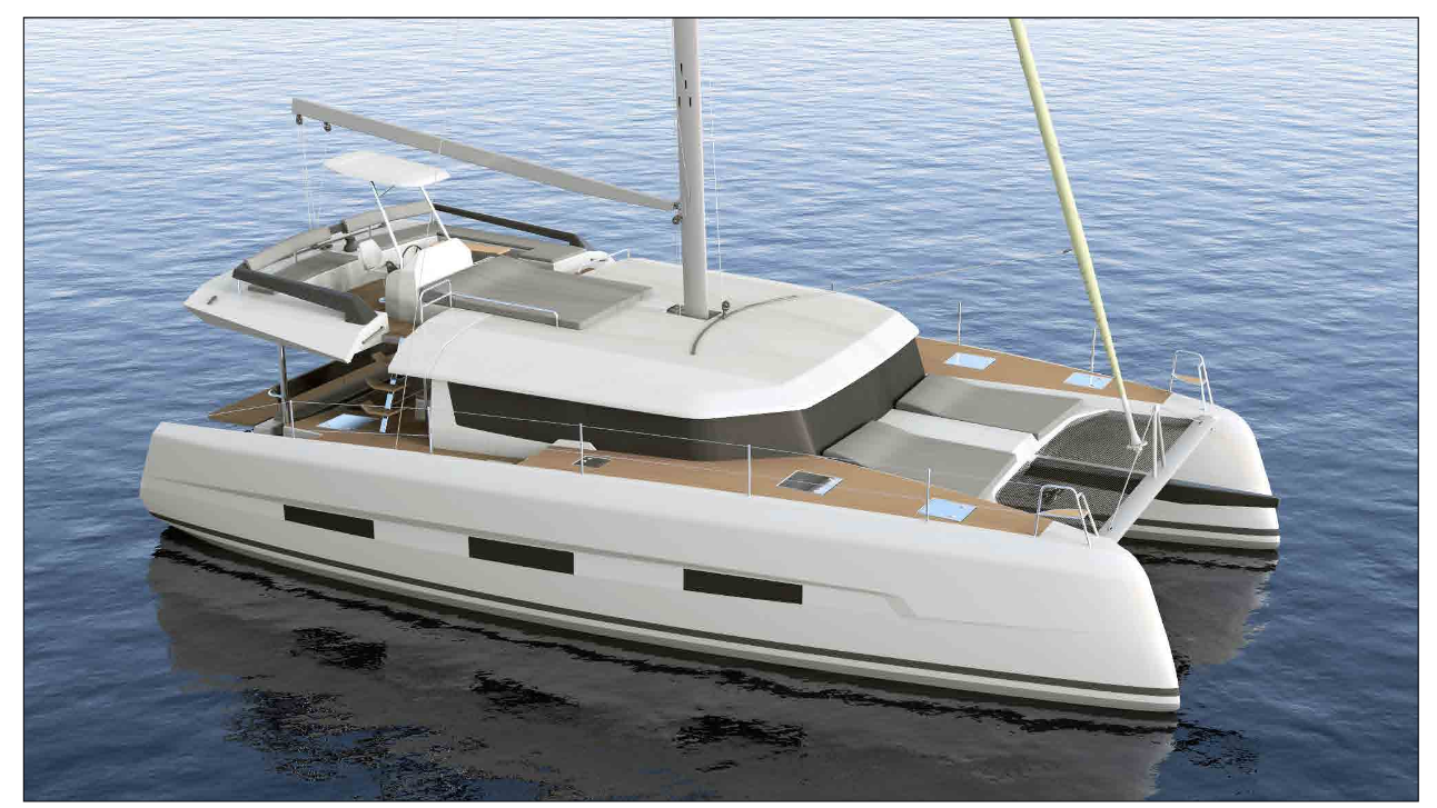 Dufour 48 Catamaran - biggest new trend