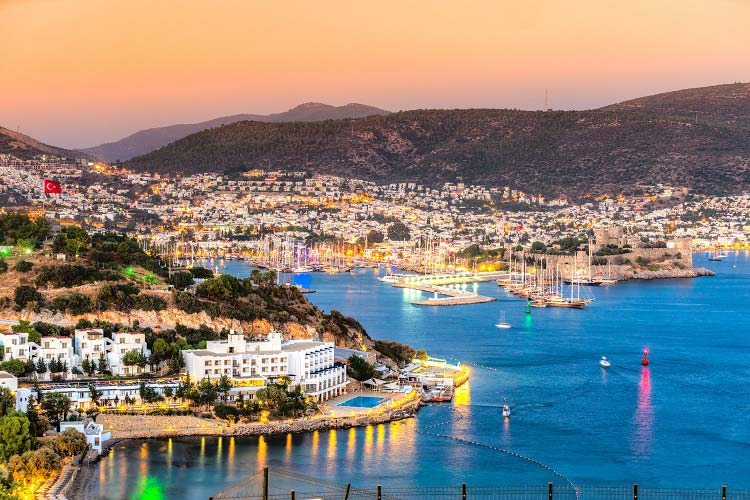 Sailing in Turkey - Bodrum - elegant Turkish seaside getaway