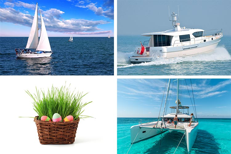 Easter sailing offers