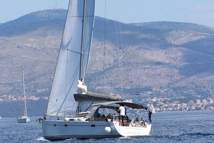 YACHT TEST- HANSE 470, From Split Croatia