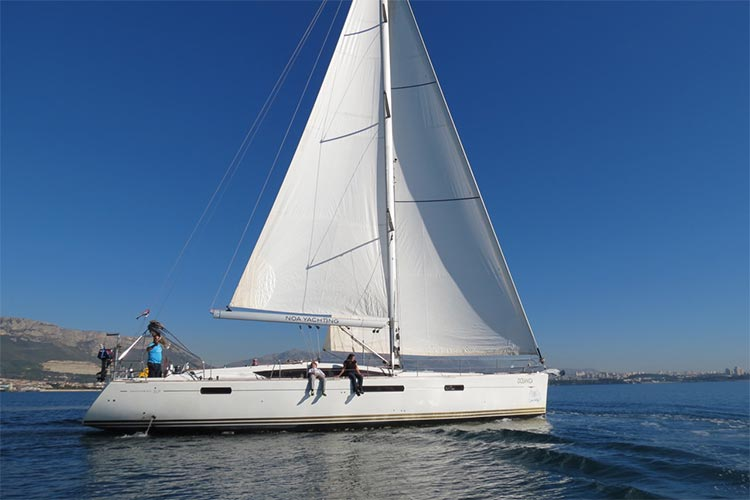 YACHT TEST - Jeanneau 57 from Split, Croatia