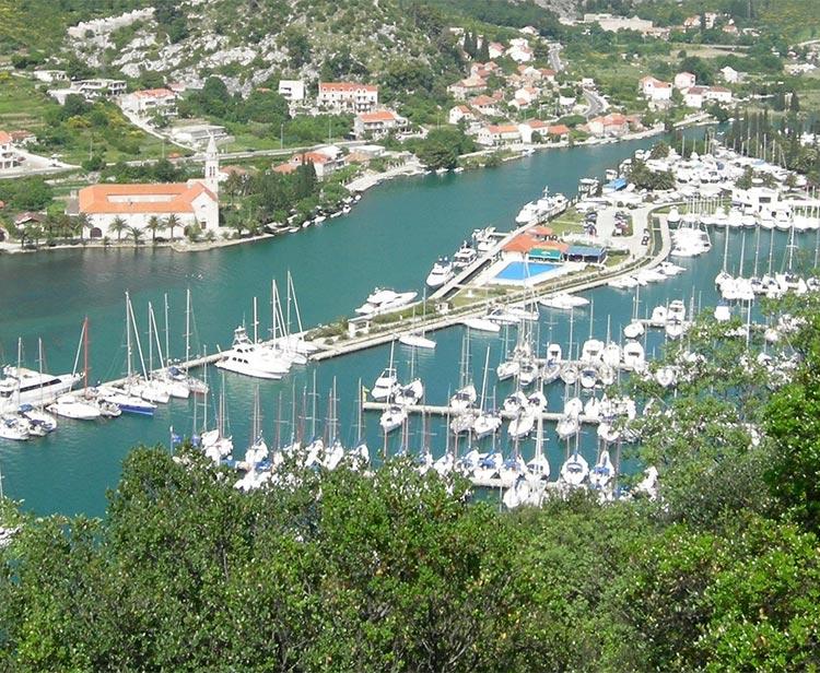 Komolac, ACI Marina Dubrovnik