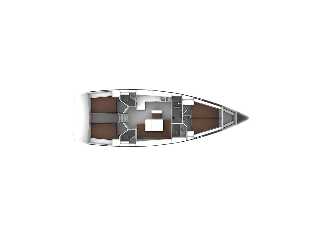 Bavaria Cruiser 46, Mila- A/C, GEN