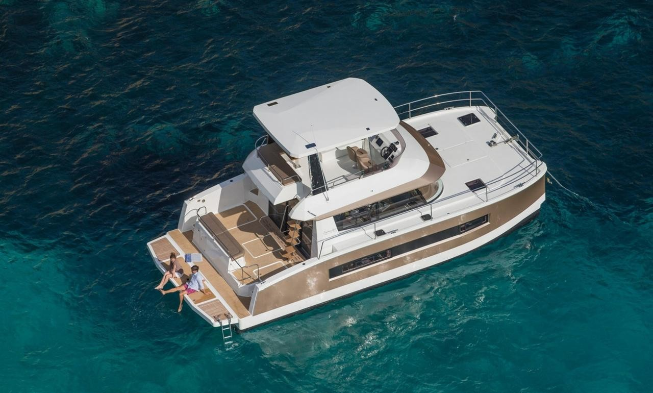 New Catamarans for 2019 - bookings are open