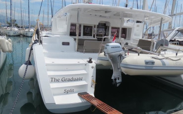 Lagoon 450 The Graduate- A/C, GEN