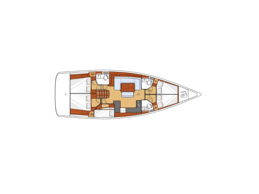 Oceanis 48, Tinos