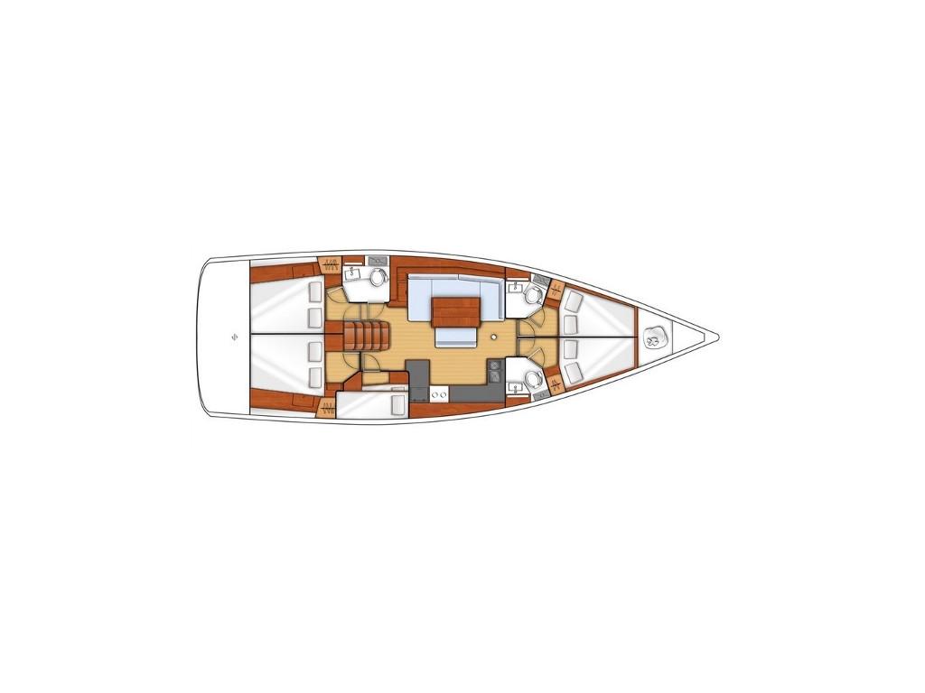 Oceanis 48, Nabucco
